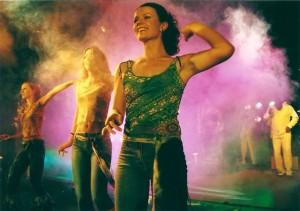 formacja Salsa Ventura, z przodu Gosią Kulpa
