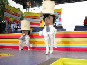 Rafael Muńoz i Estevan Henruquez tancerze z formacji SalSabor