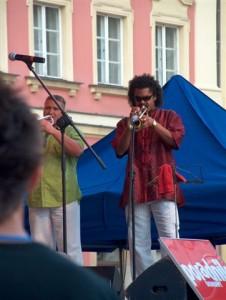 El Indio w koncercie na Rynku