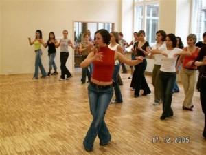 Agnieszka na weekendowych warsztatach gościnnych w Akademii Ruchu