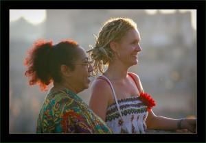 """odwiedziłam Alinę  na Kubie w jej przytulnym mieszkanku w starej Hawanie podczas kręcenia filmu dokumnetalnego """"Moja Kuba, moja Polska"""" (TVP1)"""